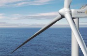 Gamesa G128 5MW offshore wind turbine